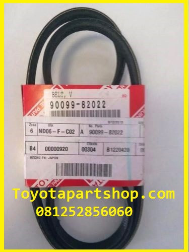 jual fan belt Toyota Prado Original RZJ120