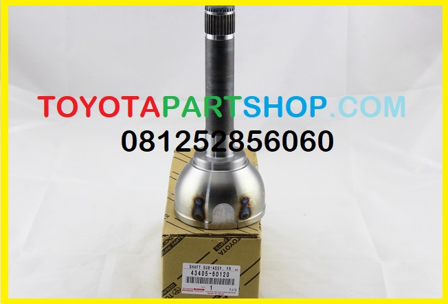 Jual SHAFT SUB-ASSY, FRONT AXLE OUTER LC 2016