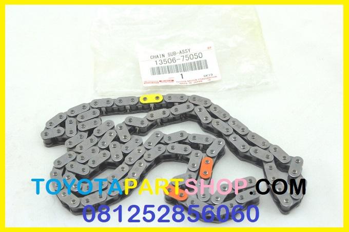 jual timming chain Toyota prado TRJ 120 original