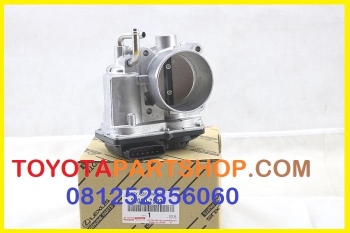 Jual Throttle Body Prado RZJ120 untuk pemesanan hubungi 081252856060