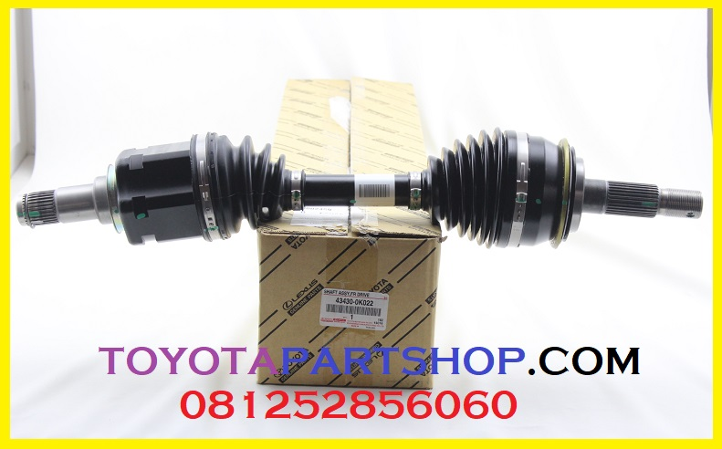 jual drive shaft assy hilux original
