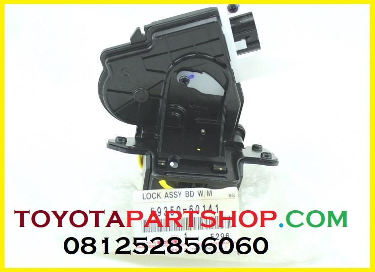 jual sparepart lexus lock assy back door lexus lx 570