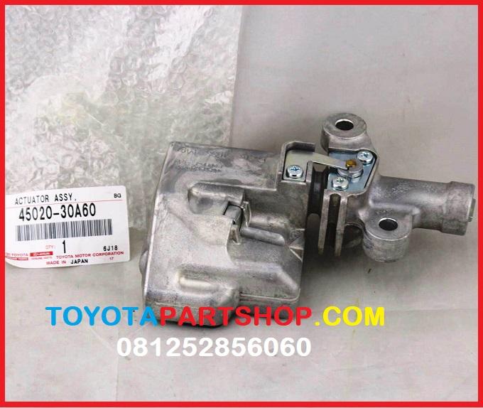 jual spare part lexus actuator assy steering lock LS 300 orignal
