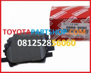 jual brake pad belakang toyota harrier 3000 cc hub 081252856060