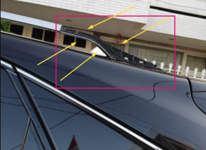 cover roof rack lexus 350