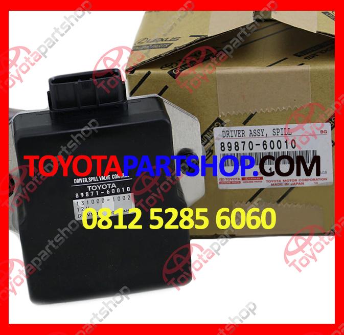 jual driver spill valve original hubungi 081252856060