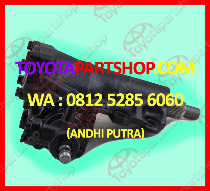 jual gear box steering land cruiser hub wa 081252856060