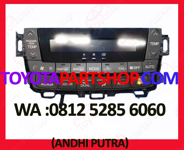 jual control panel ac toyota alphard second
