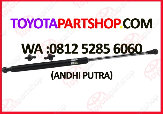 jual shock kap mesin toyota prado original set