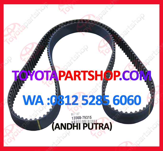 jual timing belt toyota celica original