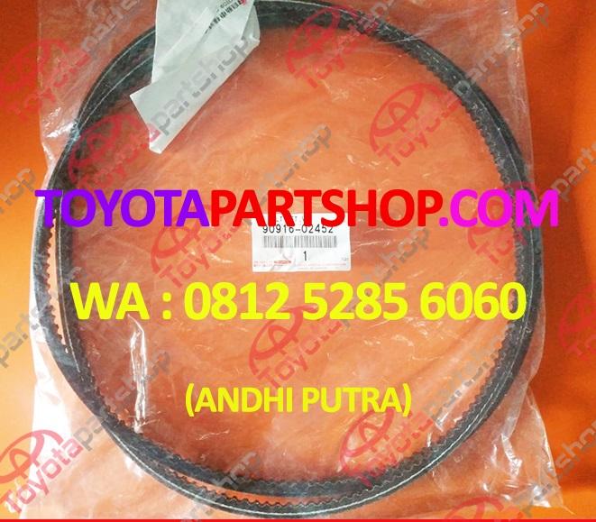 jual fan belt alternator land cruiser HDJ100 hub wa 081252856060