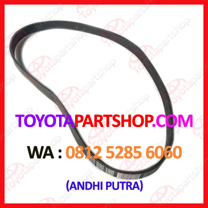 jual fan belt alternator toyota alphard original hubungi 081252856060