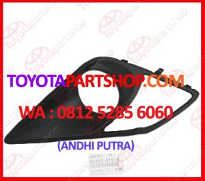 jual cover fog lamp toyota FT86 0812-5285-6060