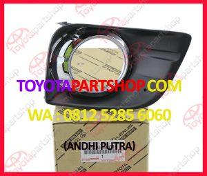 Jual Cover Fog Lamp Toyota Prado TRJ150 Original   0812-5285-6060