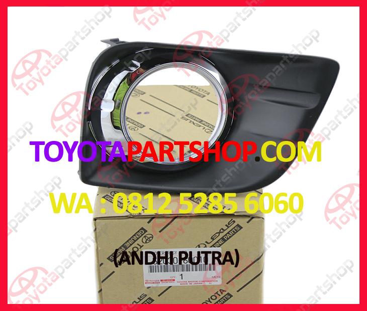 Jual Cover Fog Lamp Toyota Prado TRJ150 Original | 0812-5285-6060