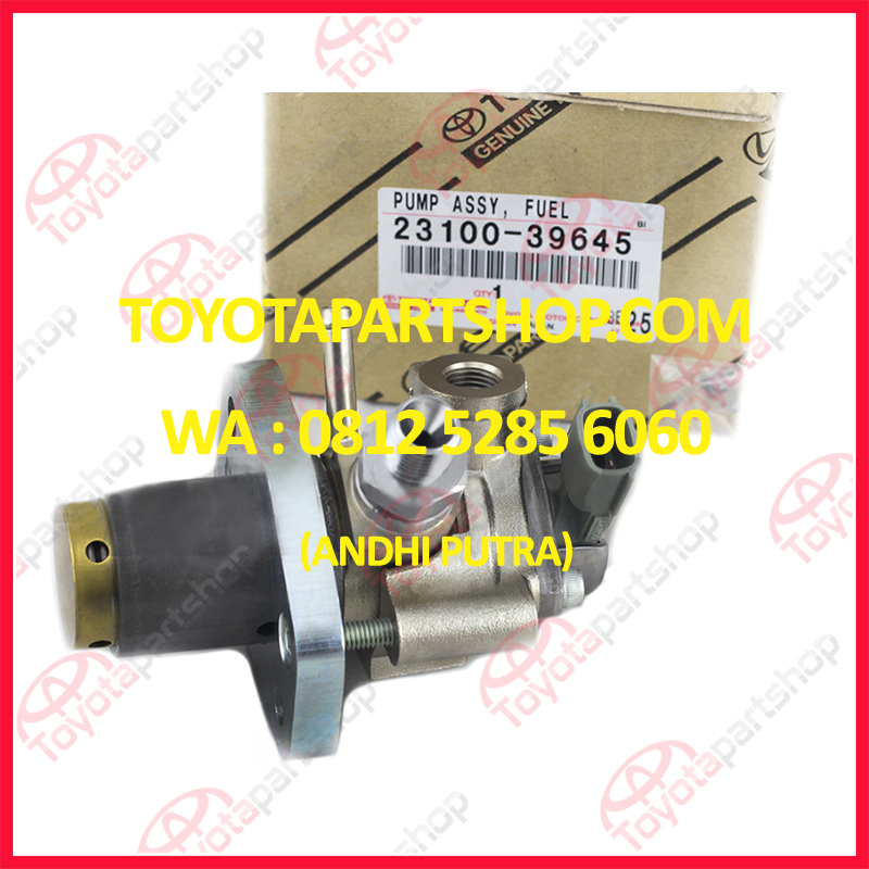 jual pompa bensin toyota mark x original wa 081252856060