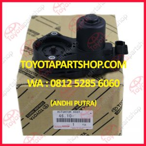 jual actuator rem parkir toyota alphard hubungi 081252856060