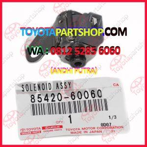 jual solenoid untuk toyota land cruiser vx 80 original wa 081252856060
